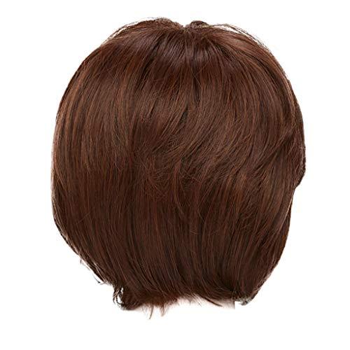 Blonde perücke,Rifuli®Frauen-mittlere lange natürliche Haar-tägliche Cosplay Perücken Haar synthetische cosplay perücken wig haarteil (Womens Tin Man Kostüm)