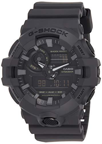 Casio G-Shock Analog-Digital Herrenarmbanduhr GA-700UC grau, 20 BAR