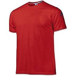 Joma Cotton, Camiseta para Hombre, Rojo, XL
