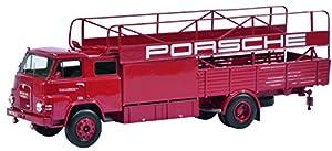 Schuco Transportador Hombre Coche de Porsche