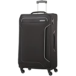 American Tourister Holiday Heat - Spinner Valise, 79.5 cm, 108 L, Noir (Black)