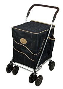 Shopping Trolley Sholeco Deluxe Check
