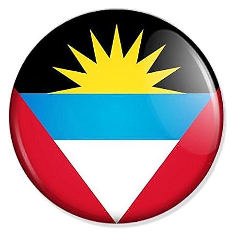 Flagge Antigua und Barbuda Kühlschrankmagnet Magnet Magneten Pinnwand Magnet Pinnwand