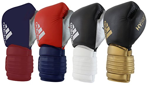 Condición Subrayar Intuición  adidas Hybrid 300 Boxing Gloves (Gold/Black, 12oz)- Buy Online in Mongolia  at mongolia.desertcart.com. ProductId : 60691622.