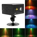 ⏰WTD! Luce di Controllo RGB Dance Party Show a Distanza, 80 Pattern Sound Light Automatico Illuminato da Discoteca, KTV Bar Pub Club riflettore (Colore : RGB 3 Colour)