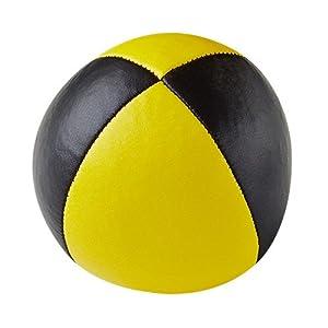 Henrys j05010-B01 - Prima Bolsas de Frijol, de diámetro 67 mm Negro / Amarillo