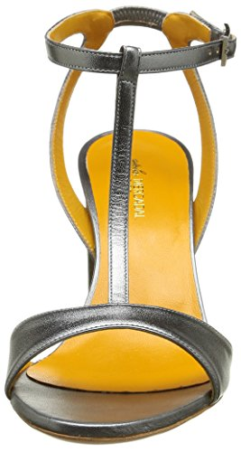 Atelier Mercadal Damen Tecla 85 M5394 Sandalen Silber - Argent (Laminati Acciaio)