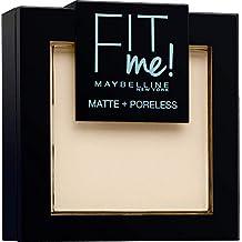 Maybelline New York Poudre Compacte Fit Me Matte & Poreless 110 Porcelaine