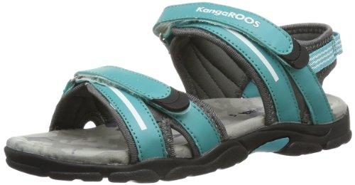 KangaROOS Corgi 11086 Unisex-Kinder Sandalen, Blau