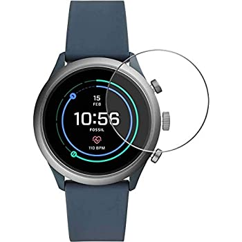 M.G.R.J® Tempered Glass Screen Protector for Fossil Sport Smartwatch 43mm