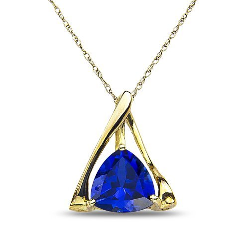 womens-created-sapphire-pendant-complementary-chain-in-10k-yellow-gold-by-nissoni-jewelry