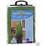 Gardman Garden Fleece Lot de 2 voiles d'hivernage pour plantes Taille L