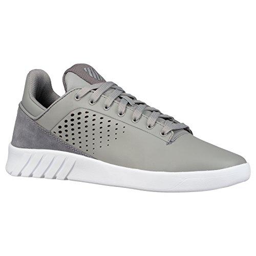 K-Swiss Nova Court, Sneakers Basses Homme Gris - Gris Charbon
