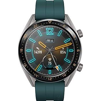 Huawei Watch GT Active Smartwatch (Écran tactile AMOLED de 3,53 cm (1,39 pouces), GPS, Moniteur de Suivi du Rythme Cardiaque, Moniteur de Fréquence ...