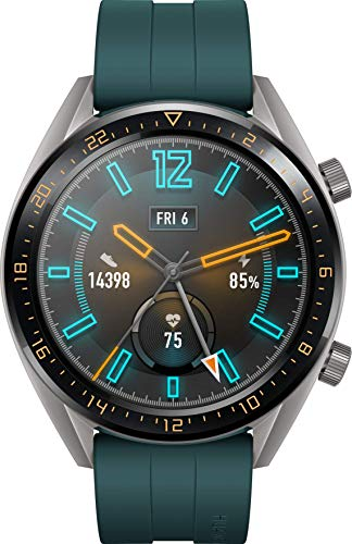 "Huawei Watch GT Active Smartwatch, Display Touch 1.39"" AMOLED, Fitness Tracker con GPS, Rilevazione Battito Cardiaco, Resistente all'Acqua 5 ATM, Verde Scuro"