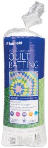 Low-Loft Bonded Polyester Batting (Batting Quilten Polyester)