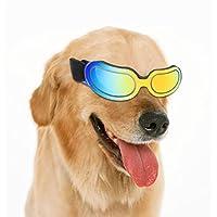 ceea0fc7faeec4 Aolvo Dog Lunettes de protection UV Lunettes de soleil, coupe-vent anti-buée