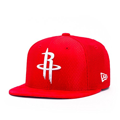 New Era Houston Rockets 9FIFTY OF NBA 2017 On-Court Snapback Casquette, Taille M/L