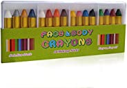 Face Paint Crayon Face Painting Kit for Kids face paint crayons (16 Colors)