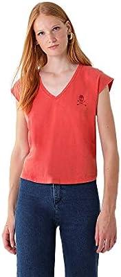 calpers Camiseta Logo Calavera Cristales - /