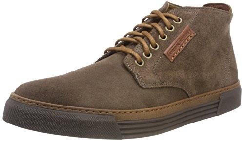 camel active Herren Racket 20 Hohe Sneaker, Braun (Taupe (Mocca) 15), 43 EU (9 UK)