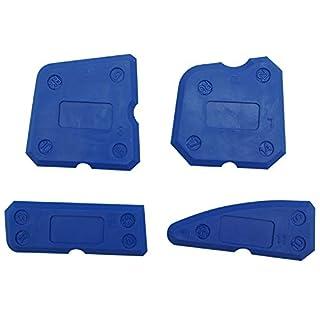4Pcs Silicone Sealant Tools Caulking Kit Smoothing Finishing Sealing Tool for Bathroom Kitchen Room and Frames Sealant Seals