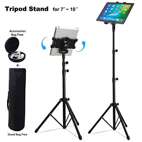 Portable Universal Boden Tablet Stativ Halterung mit Halterung Halter Adapter für alle iPad, 7