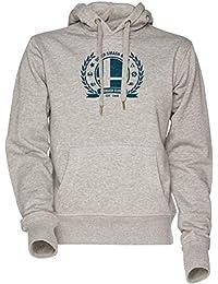 Smash Sweatshirt Unisex Donna Club Men's Uomo Con Cappuccio Women's Hoodie Grey Felpa Grigio oedxBC