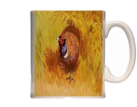 Mug Thorburn Archibald A Cock Pheasant Ceramic Cup Gift Box