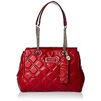 GUESS Women's Satchel Handbag, Lipstick - VG745009