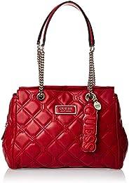 GUESS Womens Lolli Satchel Handbag