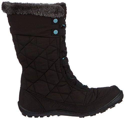 Columbia Minx Mid II Omni-Heat, Chaussures Multisport Outdoor mixte enfant, Noir Black, Iceberg