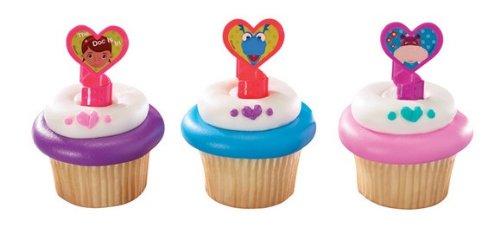 s Cupcake Ringe-24PCS ()