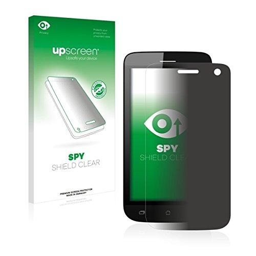 upscreen Spy Shield Clear Blickschutzfolie / Privacy für Archos 40 Helium (Sichtschutz ab 30°, Kratzschutz, selbstklebend)