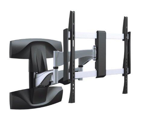 Premium Wandhalterung Superflach Neigbar Schwenkbar für 40 42 46 47 50 55 60 63 65 70 Zoll optimal für LCD und LED , Fernseher neigbar, schwenkbar, flach, ausziehbar, ultraslim VESA 600 Modell HALTERUNGSPROFI SXL (60-zoll-led-panasonic)
