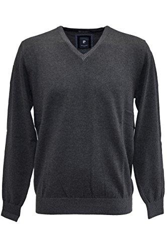 Pierre Cardin Vintage Premium Cotton Pullover in 4 Farben! Anthrazit