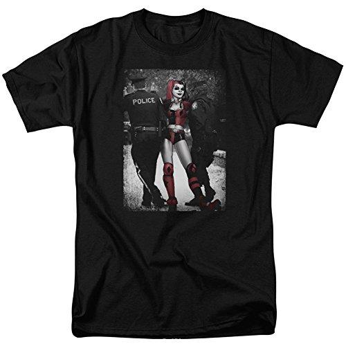 Trevco - Camiseta - Camiseta gráfica - Manga corta - opaco - para hombre Negro negro XXX-Large