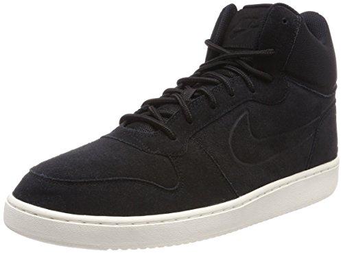 Nike Herren Court Borough Mid Premium Hohe Sneaker Schwarz (nero / Nero-vela)