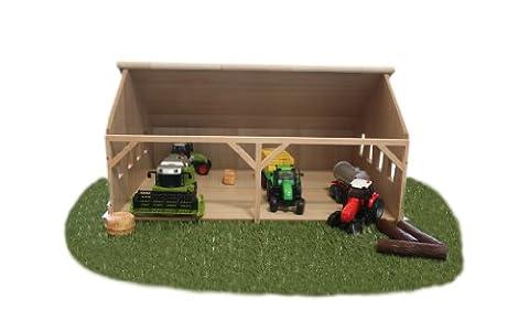 Kids Globe 610223 - Bauernhof-Schuppen für Siku ((ohne Zubehör)