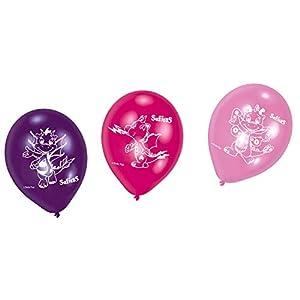 """amscan balones látex 9""""""""-23cm safiras, Multicolor, 7am9902571"""
