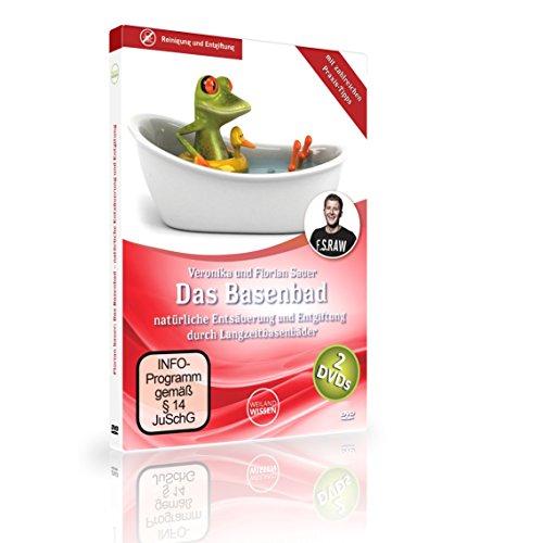 Das Basenbad - natürliche Entsäuerung und Entgiftung des Körpers mit zahlreichen Praxis-Tipps von Florian Sauer, 2er DVD Set -