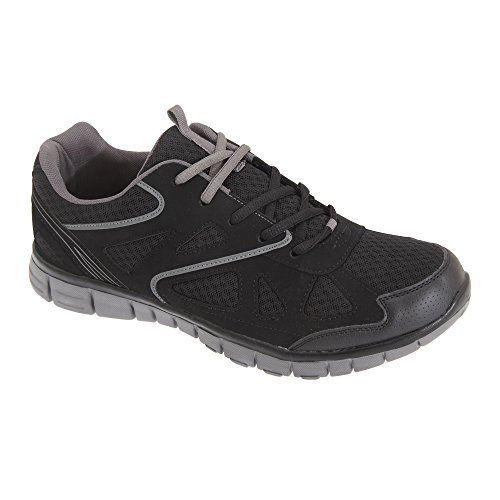 dek-meteor-scarpe-da-ginnastica-leggere-con-memory-foam-uomo-44-eu-nero-grigio