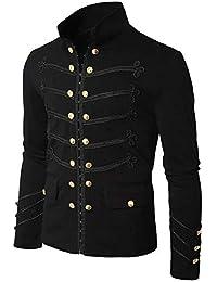 bestickte Glam Kunstlederjacke wunderschöne schwarze Jacke mit Stickerei