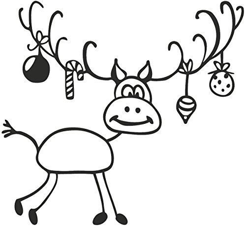 Knorr Prandell 211801401 Knorr prandell 211801401 Stempel aus Holz (Weihnachten) Motivgröße 6,5 x 6 cm , Motiv: Rudolf