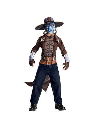 Wars Cad Bane Kostüm - Größe ca 116cm (Herren Bane Kostüm)