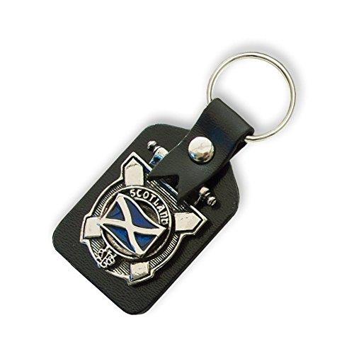 Scottish Clan Crest Key Ring/Schlüsselanhänger. (über 100schwarz erhältlich von Dropdown-Menü), Mehrfarbig - Barclay