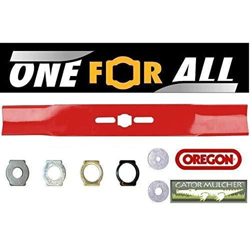 Oregon cortacésped hoja Universal todo derecho, Divers Enregistrements también MTD cortadora hoja-47,6
