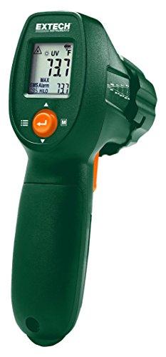 Extech IR300UV Thermomètre Infrarouge avec Détecteur de Fuites UV, Vert