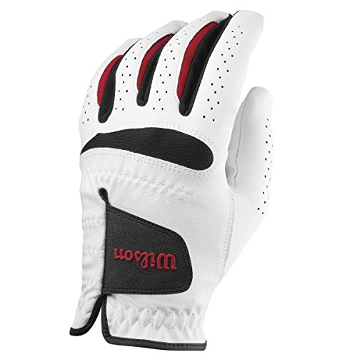 Wilson Men's Feel Plus Golf Glove, Left Hand, Large