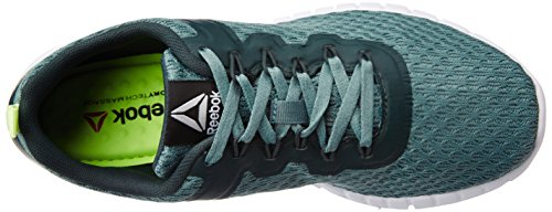 ReebokZquick Lite - Scarpe Running Donna Verde (Teal Dust/Forest Grey/White/Lemon Zest)